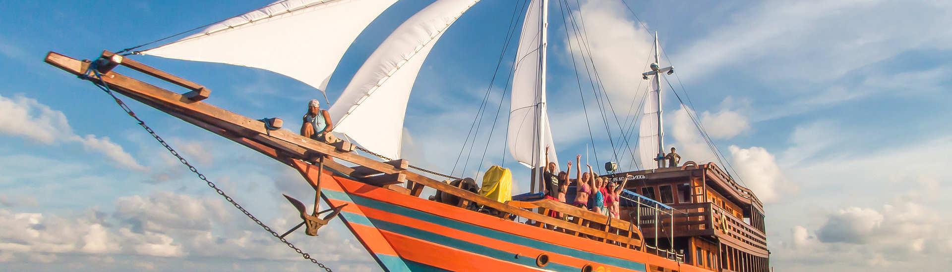 KLM Sunshine – Tauchsafaris Halmahera, Sangihe, Lembeh & Bunaken