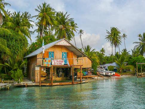 Tetamanu Diving Club – Süd Fakarava