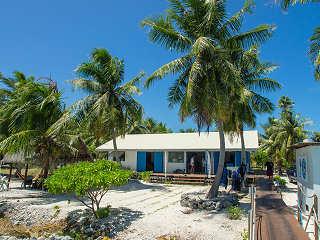 "Tauchbasis ""Dive Spirit"" auf Fakarava, Polynesien"