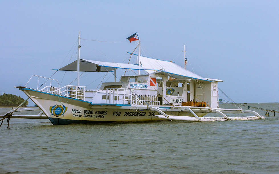 Tauchboot der Southern Leyte Divers – Philippinen
