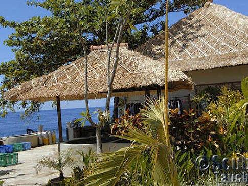 Tauchbasis im Tauch Terminal Tulamben – Bali