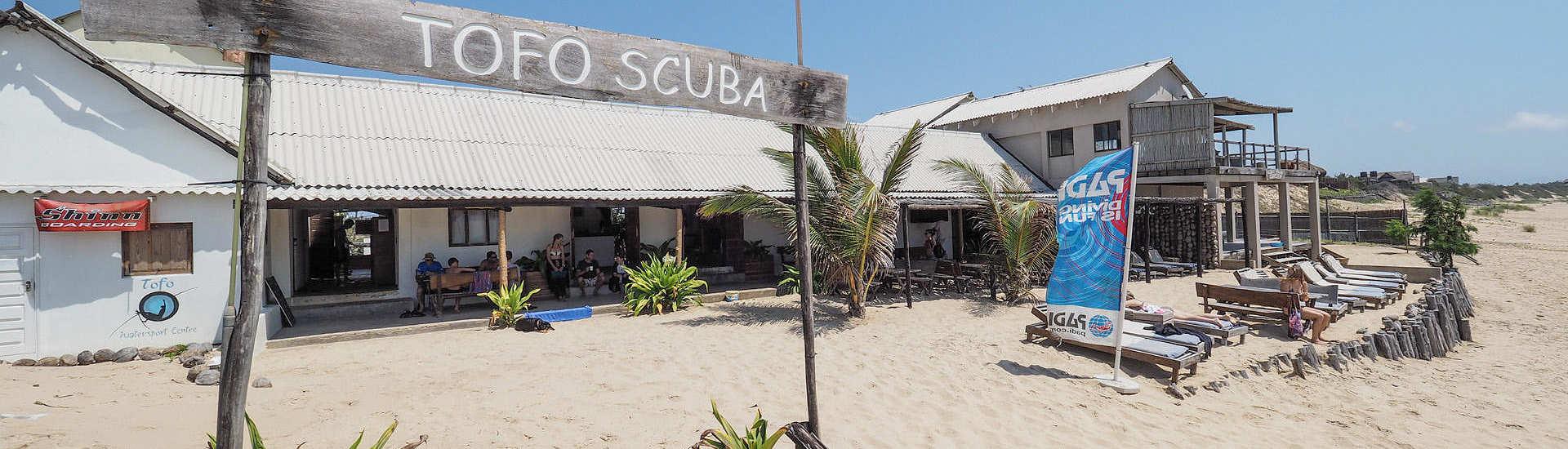 Tauchbasis Tofo Scuba in Mosambik
