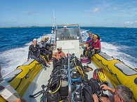 Tauchboot von Dive Spirit – Fakarava