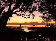 Sonnenuntergang am Strand von Romblon