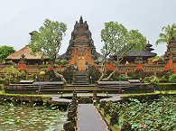 Tempel in Ubud auf Bali, Indonesien