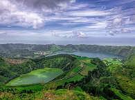 Gradiose Kraterseen auf den Azoren