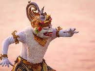 Balinesischer Tänzer – Insel der Götter