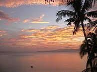Sonnenuntergang auf Bohol – Philippinen