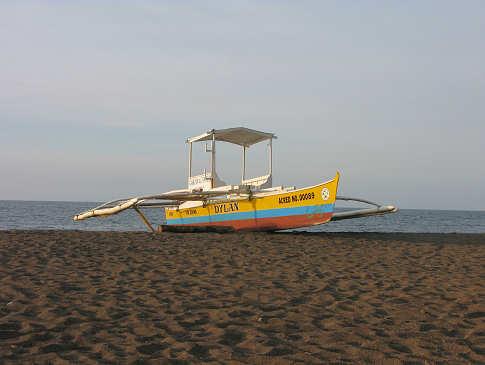 Sandstrand auf Bohol – Tauchreisen Philippinen