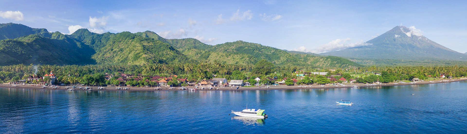 Tauchgebiete um Tulamben und Amed an Balis Ostküste