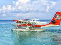 Wasserflugzeug – Tauchreise Malediven