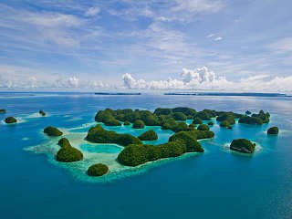 Rocky Islands Palau – Mikronesien
