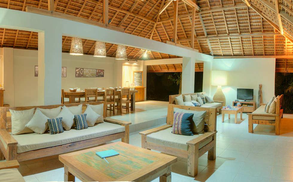 offenes Restaurant und Lounge