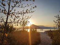 Sonnenuntergang auf Pantar im Alor-Archipel