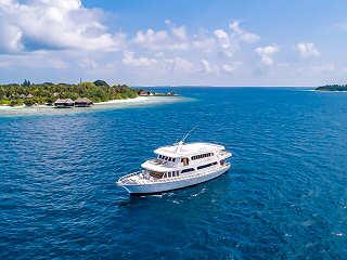 Tauchsafaris auf der Blue Shark One – Malediven