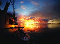 Sonnenaufgang in Raja Ampat