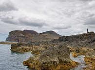 Karge Mondlandschaft auf den Azoren