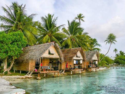 Pension Tetamanu Village – Fakarava, Polynesien