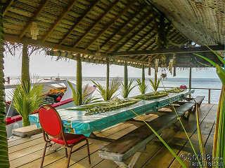 Restaurant im Tetamanu Village – Fakarava