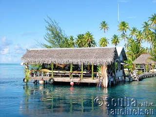Over Water Restaurant – Tetamanu Village, Fakarava