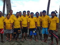Team der Tompotika Dive Lodge, Zentral Sulawesi