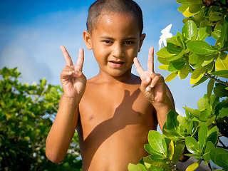 Urlaub in Polynesien
