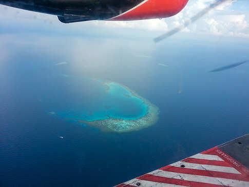 Sinkflug ins Paradies – Tauch-Urlaub Malediven