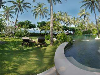 Pool & Garden – Villa Markisa bei Tulamben