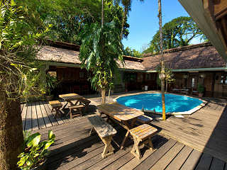 Pool Area – Walindi Plantation Resort