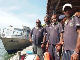 Tauchbasis Crew – Walindi Resort