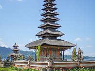 Ulun Danu Bratan Temple – Bali, Indonesien