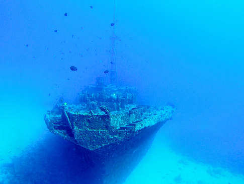 Wrack der Stella Maru – Mauritius