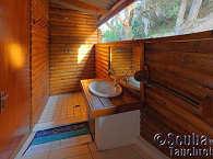 Badezimmer – Zavora Lodge, Mozambique