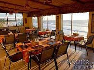Restaurant mit Blick auf's Meer – Zavora Lodge Mosambik